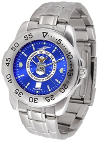 United States Air Force Sport Steel Watch - AnoChrome Dial