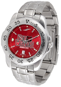 Arkansas State Red Wolves Sport Steel Watch - AnoChrome Dial