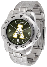 Appalachian State Mountaineers Sport Steel Watch - AnoChrome Dial