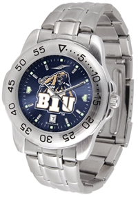 Brigham Young Cougars Sport Steel Watch - AnoChrome Dial