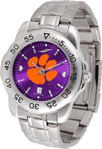 Clemson Tigers Sport Steel Watch - AnoChrome Dial