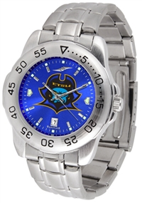 East Tennessee State (ETSU) Buccaneers Sport Steel Watch - AnoChrome Dial