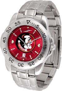 Florida State Seminoles Sport Steel Watch - AnoChrome Dial