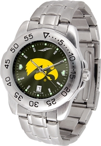 Iowa Hawkeyes Sport Steel Watch - AnoChrome Dial