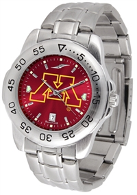 Minnesota Golden Gophers Sport Steel Watch - AnoChrome Dial
