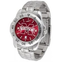 Mississippi State Bulldogs Sport Steel Watch - AnoChrome Dial