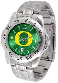Oregon Ducks Sport Steel Watch - AnoChrome Dial
