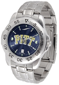 Pittsburgh Panthers Sport Steel Watch - AnoChrome Dial
