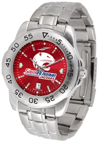 South Alabama Jaguars Sport Steel Watch - AnoChrome Dial