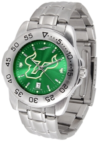 South Florida Bulls Sport Steel Watch - AnoChrome Dial