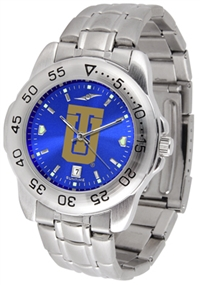 Tulsa Golden Hurricane Sport Steel Watch - AnoChrome Dial