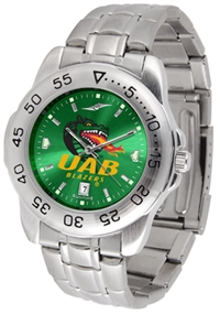 Alabama Birmingham Blazers Sport Steel Watch AnoChrome Dial