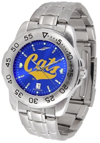 Montana State Bobcats Sport Steel Watch - AnoChrome Dial
