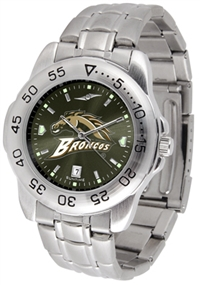 Western Michigan Broncos Sport Steel Watch - AnoChrome Dial
