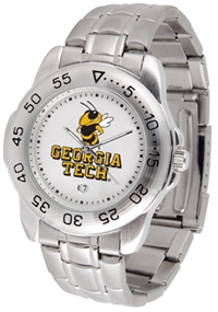 Georgia Tech Yellow Jackets Sport Steel Watch