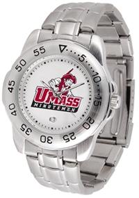 Massachusetts Minutemen Sport Steel Watch