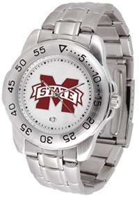 Mississippi State Bulldogs Sport Steel Watch