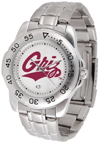 Montana Grizzlies Sport Steel Watch