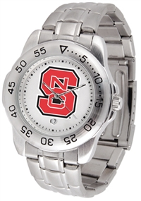 North Carolina State Wolfpack Sport Steel Watch