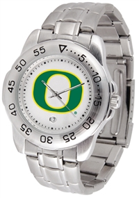 Oregon Ducks Sport Steel Watch