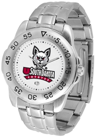 South Dakota Coyotes Sport Steel Watch