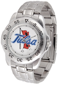 Tulsa Golden Hurricane Sport Steel Watch