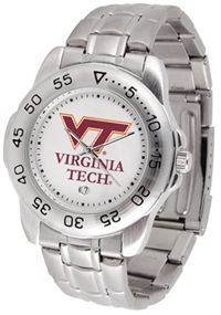Virginia Tech Hokies Sport Steel Watch