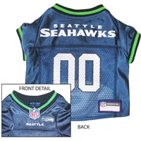 Seattle Seahawks NFL Dog Jersey - Small