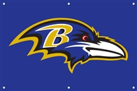 Baltimore Ravens NFL 3' x 2' Fan Banner