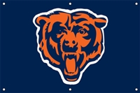 Chicago Bears NFL 3' x 2' Fan Banner