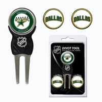 Dallas Stars NHL Divot Tool Pack w/Signature Tool