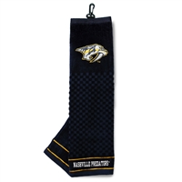 Nashville Predators NHL Embroidered Tri-Fold Towel