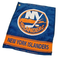 New York Islanders NHL Woven Golf Towel