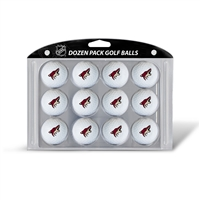 Phoenix Coyotes NHL Dozen Ball Pack