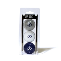 Tampa Bay Lightning NHL 3 Ball Pack