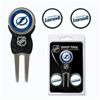 Tampa Bay Lightning NHL Divot Tool Pack w/Signature Tool