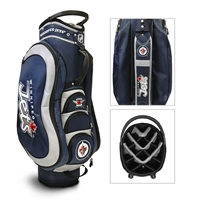 Winnipeg Jets NHL Cart Bag - 14 way Medalist