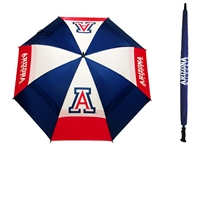Arizona Wildcats NCAA 62 inch Double Canopy Umbrella
