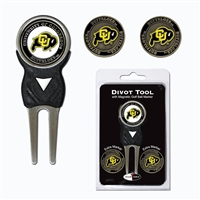 Colorado Golden Buffaloes NCAA Divot Tool Pack w/Signature Tool