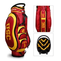 USC Trojans NCAA Cart Bag - 14 way Medalist