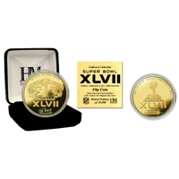 Super Bowl XLVII Gold Flip Coin