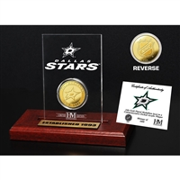 Dallas Stars Etched Acrylic Desktop