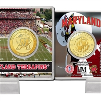 University of Maryland Bronze Coin Card