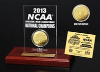 University of Louisville 2013 NCAA National Champions Etched Acrylic