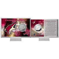 Phoenix Coyotes NHL Phoenix Coyotes Silver Coin Card
