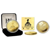 Super Bowl XLVII Commemorative Gold Coin