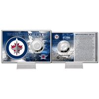 Winnipeg Jets NHL Winnipeg Jets Silver Coin Card