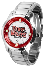 Arkansas State Red Wolves Titan Watch - Stainless Steel Band
