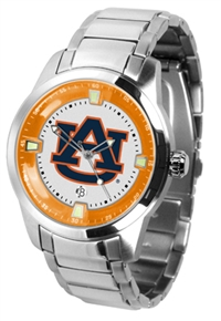 Auburn Tigers Titan Watch - Stainless Steel Band