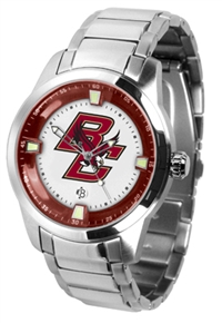Boston College Eagles Titan Watch - Stainless Steel Band